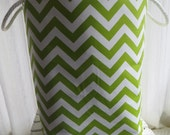 Laundry Hamper, Toy Storage, toy bin, baby hamper,  Chevron 12 x 0 x 20  Choose your colors water repellent lining available