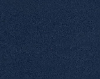 "5502-Genuine Leather/Cowhide/Navy Blue/New Cut Hide/14""x7""/WoolenCrow Price 8.75/leather craft supplies/leather fabric/sewing supplies/totes"