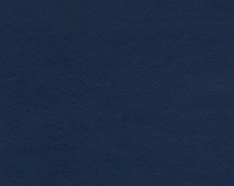 5510-Genuine Leather/Cowhide/New Cut Hide/11.25x5.75/True shade Navy Blue/supple/ journals/leather  craft supplies leather wallets
