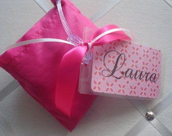 BagTags  with Folded Bag for Purse