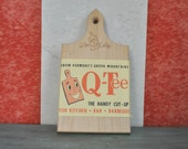 J.K. Adams Co. Vermont Q-Tee Cut Up Cutting Board