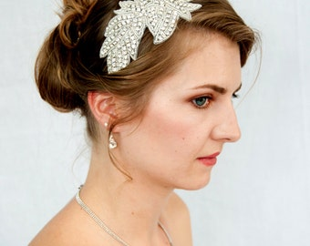 Rhinestone headband -  Bridal Wedding Reception