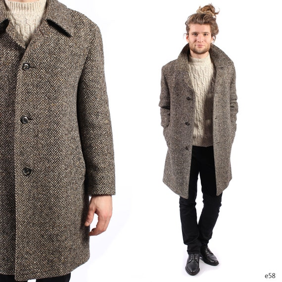 Images of Tweed Coat Mens - Reikian
