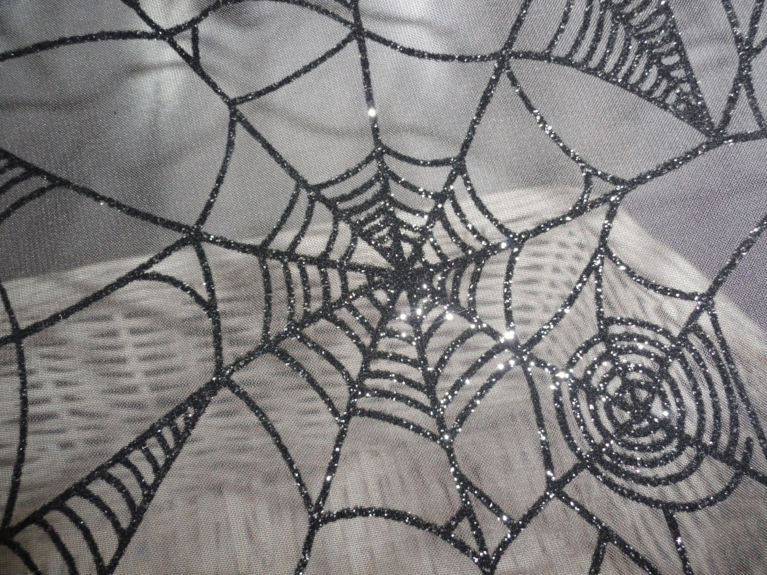zoom - Halloween Lace Fabric