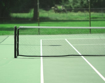 Tennis Court Photography Modern Architectural Landscape