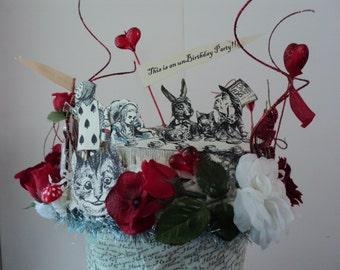 Alice in Wonderland Birthday Crown