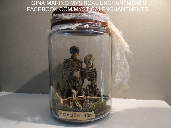Halloween Jar Of Skeletons BEST SELLER