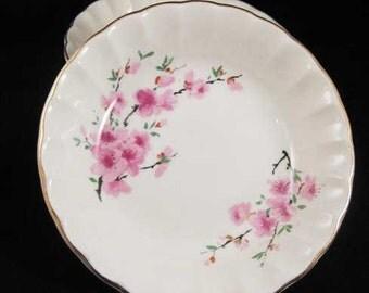 W. S. George Peach Blossom(BOLERO)Fruit/Dessert Bowls(2)