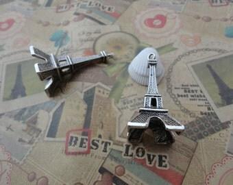 5pcs antique silver Eiffel Tower findings 47mmx22mmx22mm