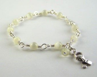 Spinal Muscular Atrophy Awareness Bracelet