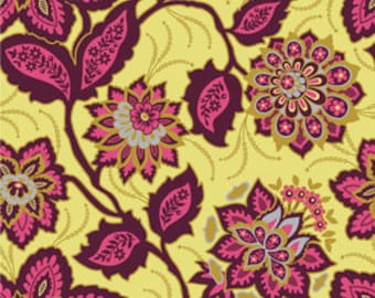 Just reduced - Heirloom by Joel Dewberry in Garnet  - 1/2 yard