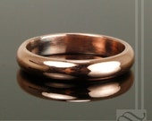Classic Copper Wedding Band