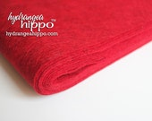 10 Sheets - Deep Heather RED - Wool Blend Felt - 12 x 18 inch sheets