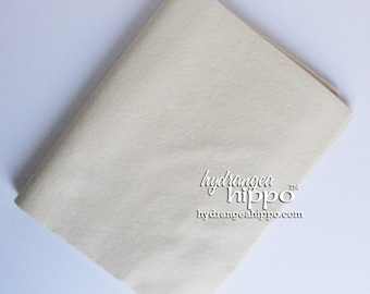 10 Sheets - BUTTER YELLOW - Wool Blend Felt - 12 x 18 inch sheets