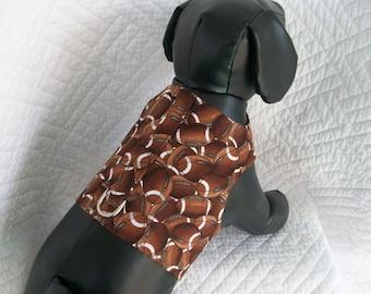 Football Harness Vest for Dog for boy or girl dog