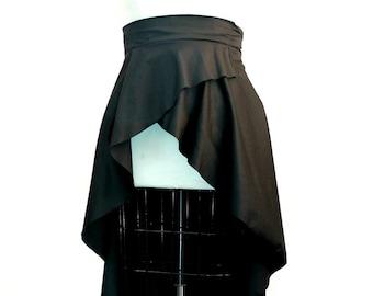 Trendy Plus Size Peplum Belt / Women plus size peplum plus size cotton High Low  (2 - 26)
