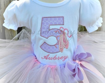 Ballet Number tutu Outfit