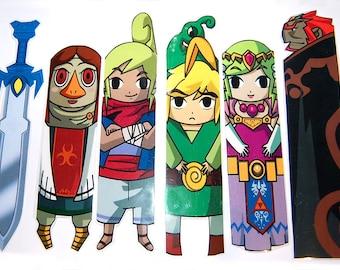 The Legend of Zelda Bookmark