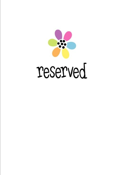 Reserved for Amy - special order cost