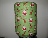 5 Gallon Cooler Decor -Santa with Red Suit,