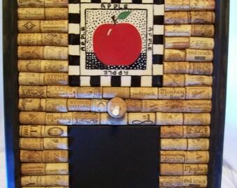 Chalk Board, Cork Board, Home Decor, Wall Hanging, Restaurant Decor