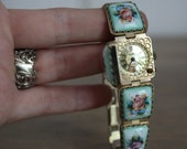 Vintage Porcelain Watch AS IS