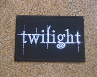 wolf twilight PATCH badge