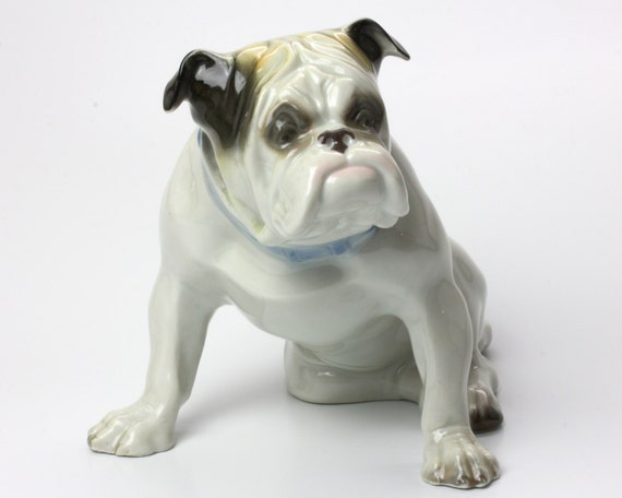 english bulldog figurine items similar to antique english bulldog figurine german 5020