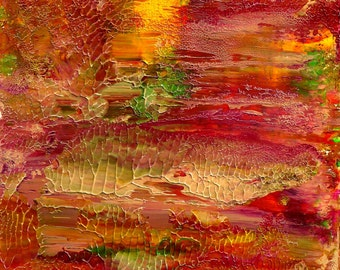 Original Abstract  Serenity Path Acrylic Painting