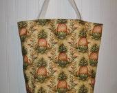 hospitality pineapple tote bag
