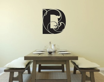 Vinyl Wall Decal Your Family's Monogram - Family Wall Quote - Family Decal - Family Monogram