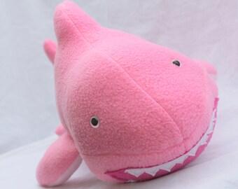Pink Plush Shark