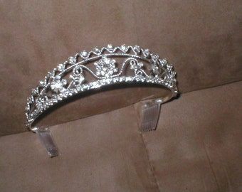 Rhinestone Bridal Tiara Headpiece