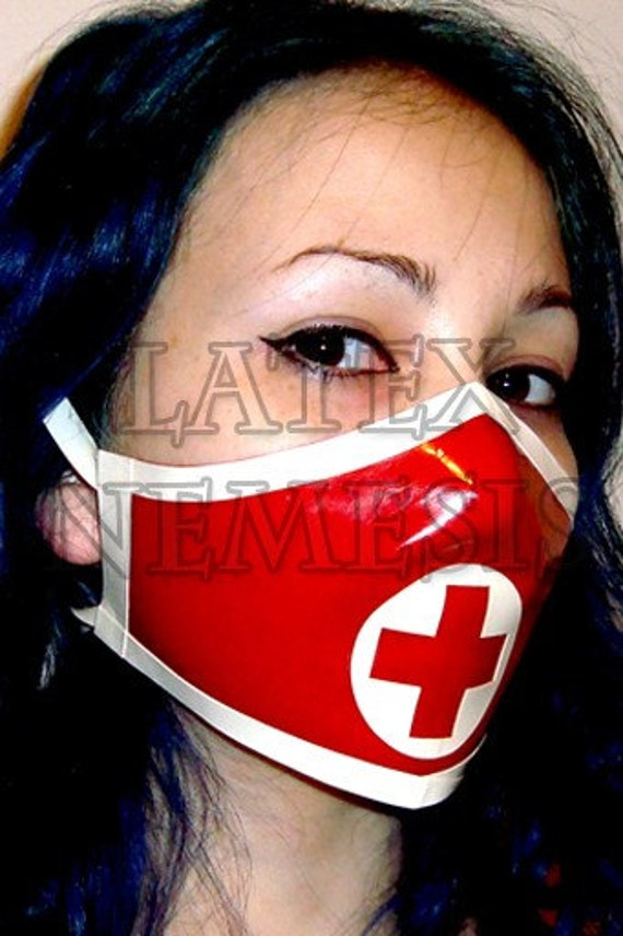 Items Similar To Latex Rubber Medical Nurse Surgical Mask