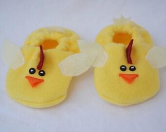 Chicken Baby Booties