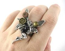 Fairy Jewelry - Steampunk Jewlery - Steampunk Fantasy - Fairy Accessories - Fairy Cosplay - Steampunk Cosplay