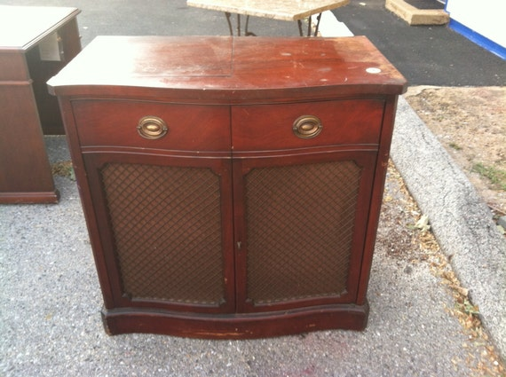 Drexel Motorola Cabinet Record Player Radio Vintage Antique