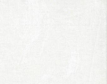"Plaster of Paris by Stephanie Brandenburg for Frond design Studios -- ""Pearl"" White Quilting Blender"