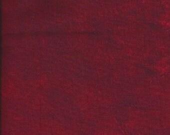 "Plaster of Paris by Stephanie Brandenburg for Frond design Studios -- ""Open Rose"" Red Quilting Blender"