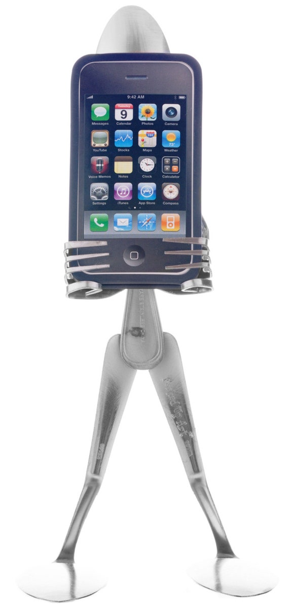 The iSpoon - iPhone stand