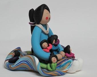 Mother's Day Southwest Navajo Storyteller Doll