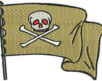 Pirate Embroidery Designs Machine Embroidery 20 Designs Instant Download