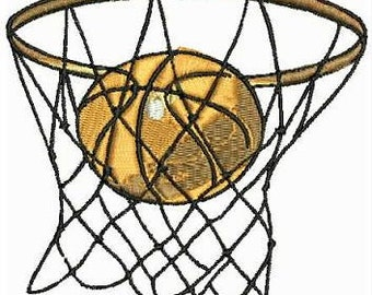 Basketball Embroidery Designs Machine Embroidery 18 Designs Instant Download