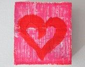 Heart Wood Block