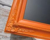 "TUSCAN KITCHEN CHALKBOARD Unique Birthday Gift 27""x23""  - AnY CoLoR- Blackboard Housewarming Gift for Her Burnt Orange Wedding Chalk board"