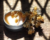 Linden Moon - Botanical Solid Perfume Inspired by Gathering Linden Flowers by Moonlight- .25 oz tin