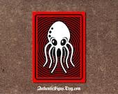 Octopus Sign - Aluminum Sign