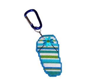 PDF format Really Neat Mini Beach Feet ...Key Chains