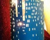 New York City Skyline silhouette large