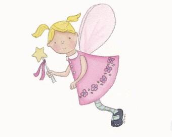 Pink Fairy - 5x7 Print